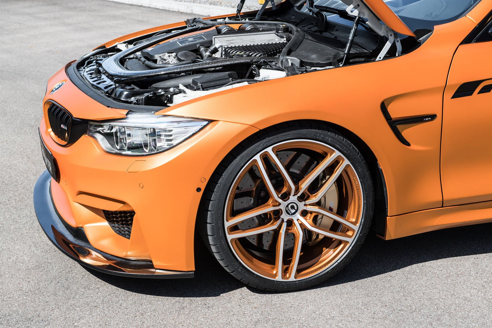 Тюнинг-ателье G-Power презентовало 670-сильный BMW M4
