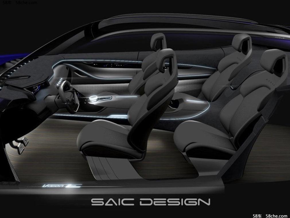 ВШанхае дебютирует концептуальный автомобиль  SAIC Vision-E