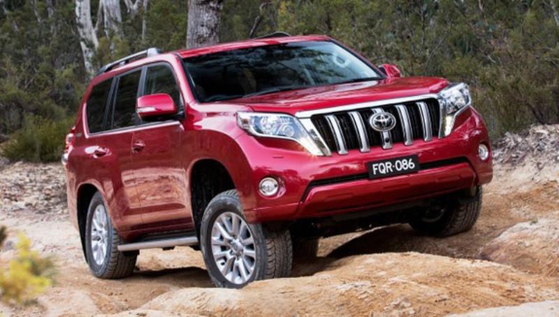 Обновленный Toyota Land Cruiser Prado появится нарынке виюле class=