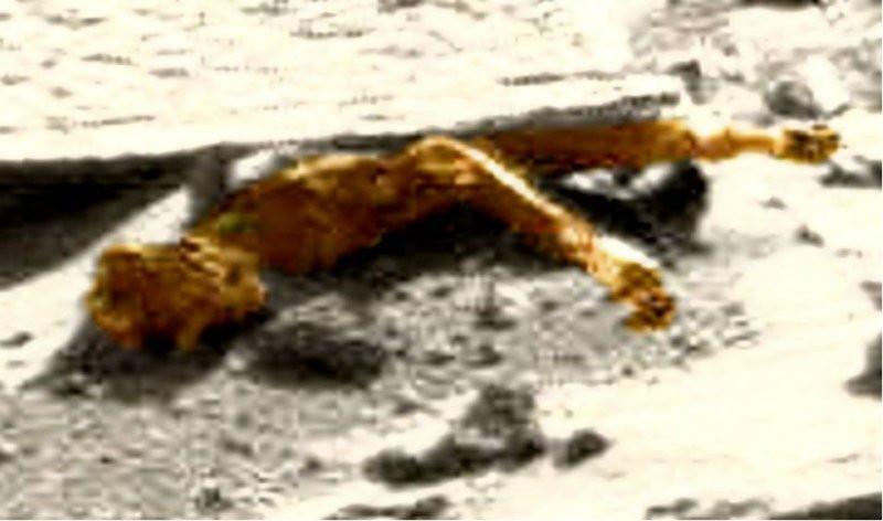 Уфологи обнаружили наМарсе труп инопланетянина