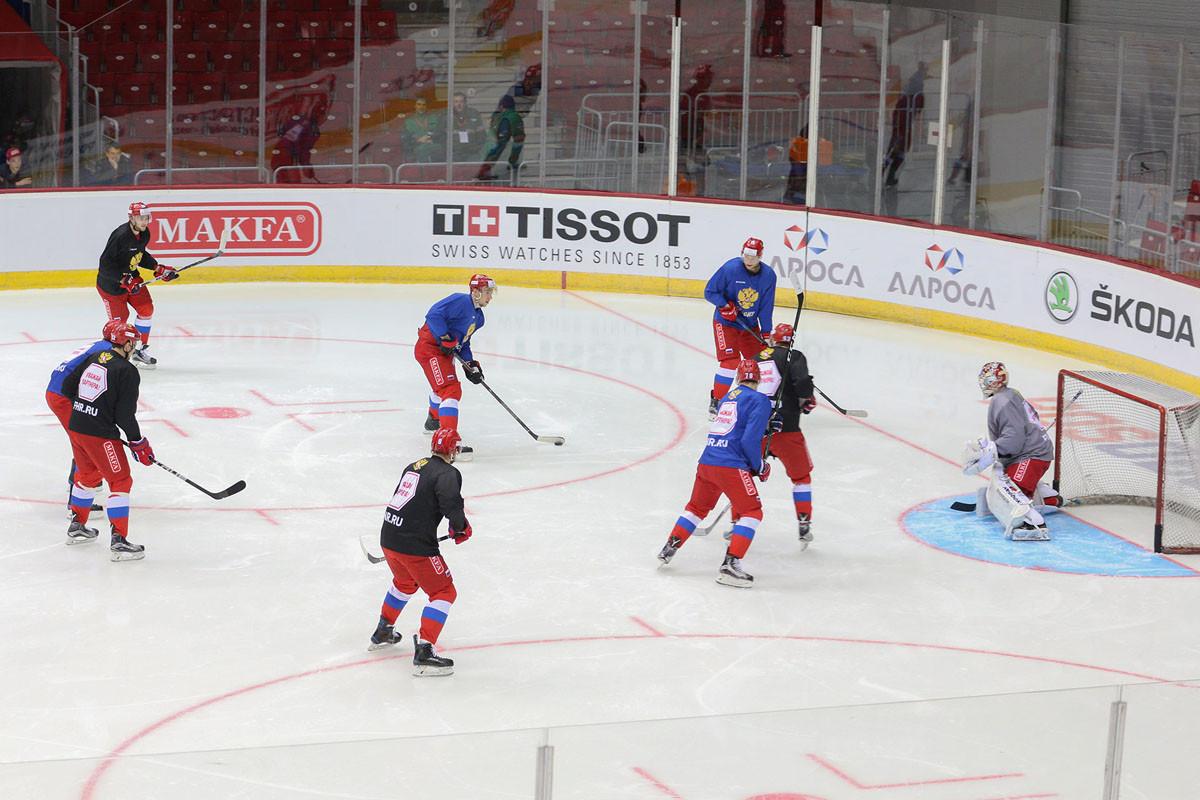 Русские хоккеисты разгромили французов вовтором мачте «Еврочелленджа»