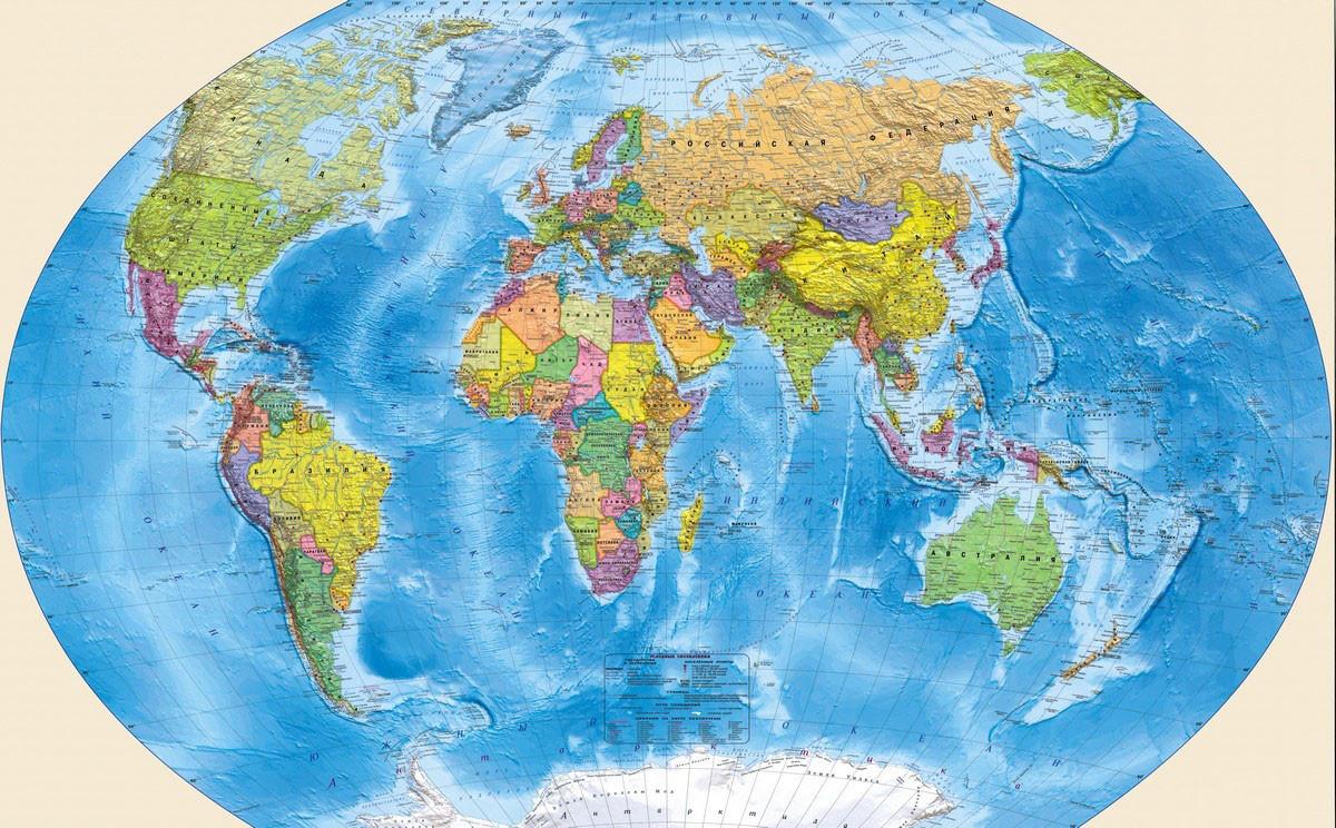 Ученые изучили древнюю карту с изображением Антарктиды