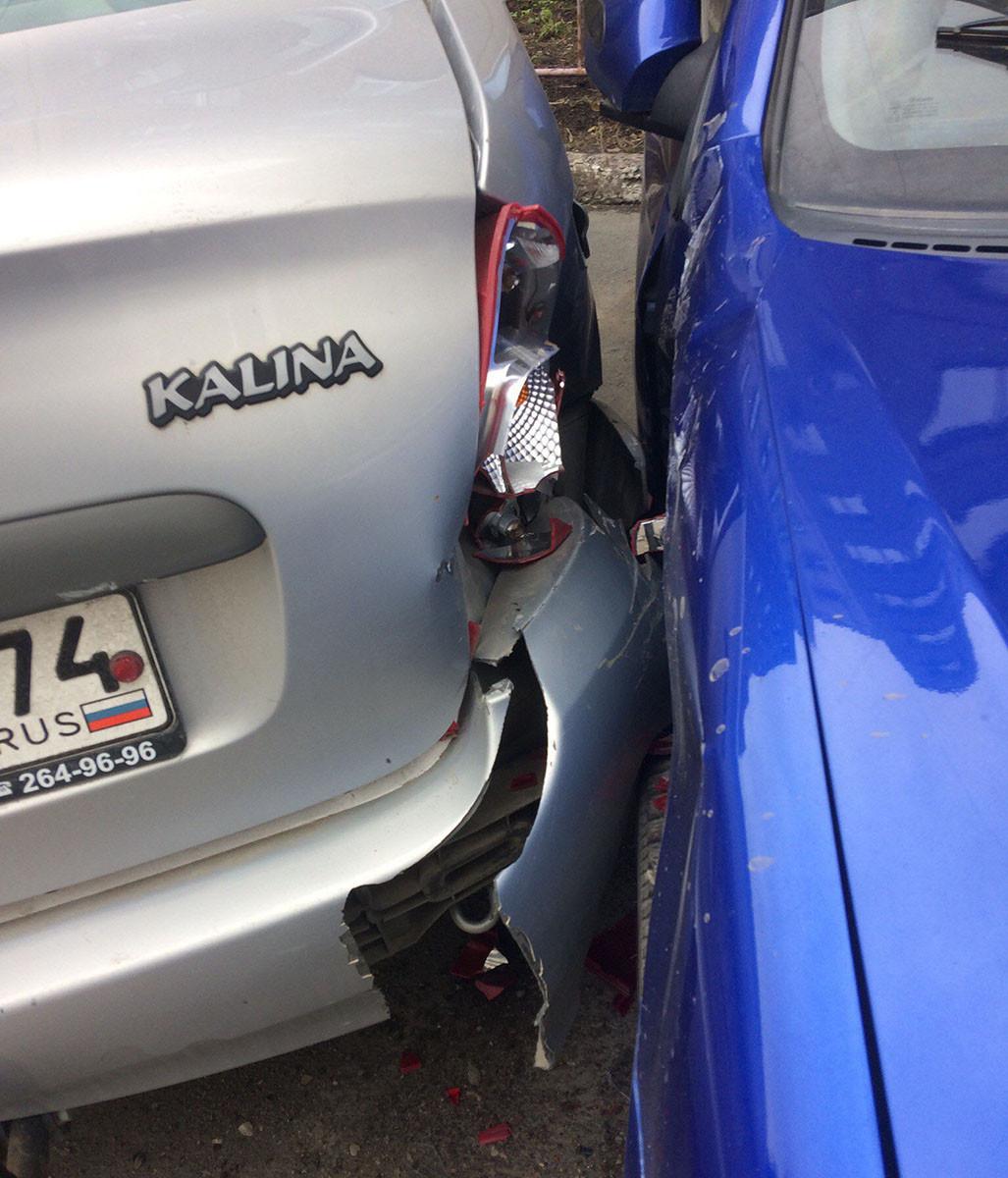 Нетрезвый челябинец в 2-х ДТП разгромил больше десятка авто