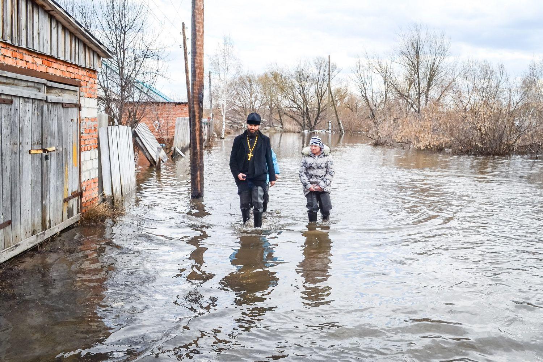 ВАлтайском крае растет количество подтопленных грунтовыми водами домов