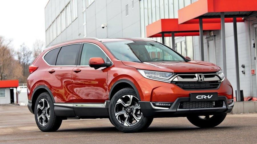 Обновленный кроссовер Honda CR-V приедет в Россию с одним двигателем