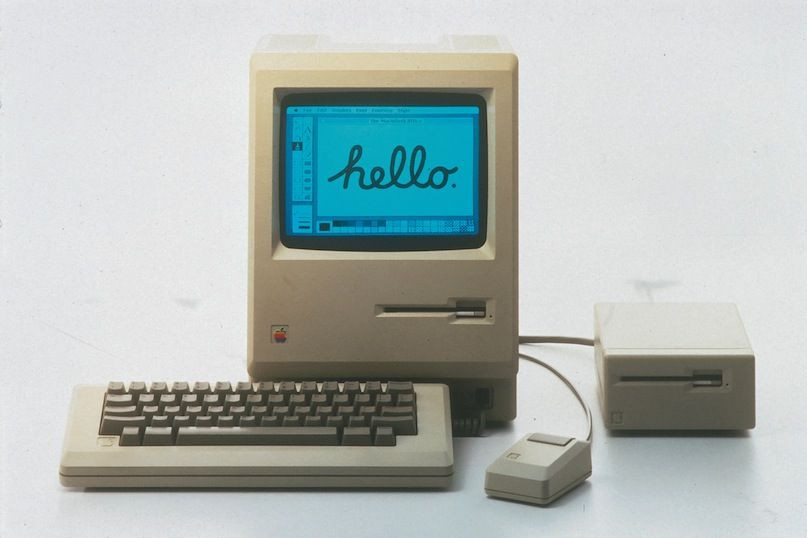 Вглобальной паутине  появились игры исофт для первого Macintosh
