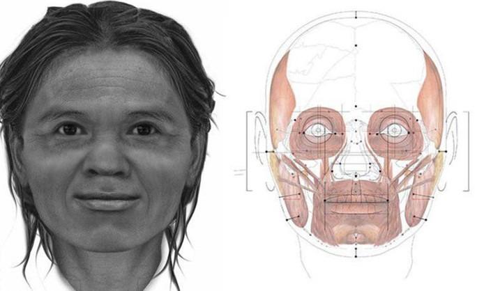 Ученые восстановили облик женщины, жившей 13 тысяч лет назад