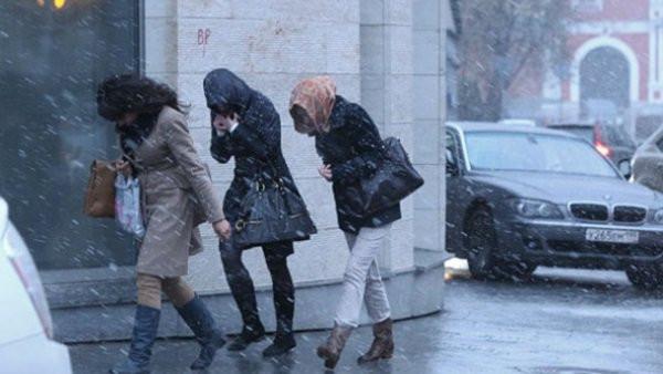 Желтый уровень опасности объявлен в столице России из-за штормового ветра