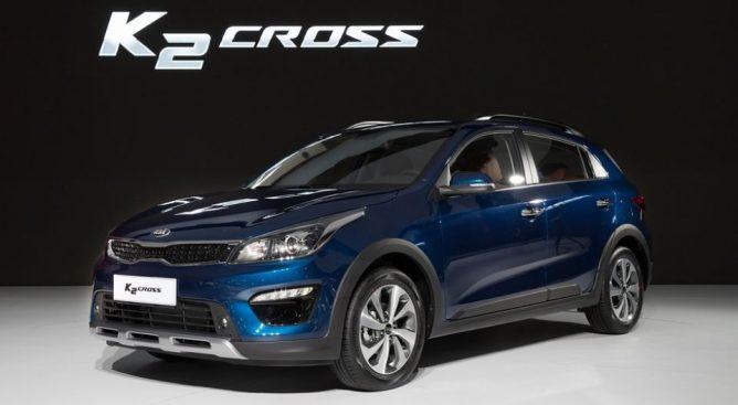 Кроссовер Kia Rio Cross представили на автосалоне вШанхае