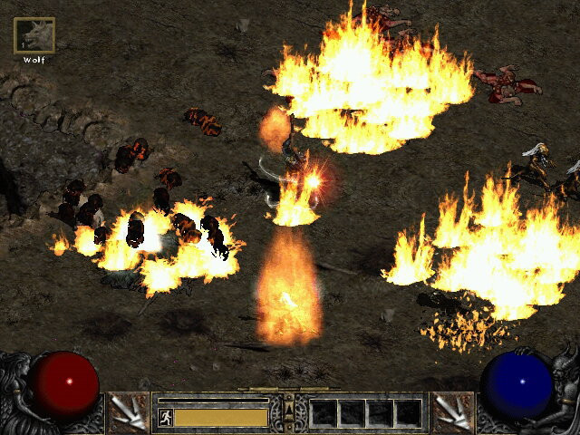 Мать  довольна: игрок-пацифист прошел Diablo 2 неатакуя противников