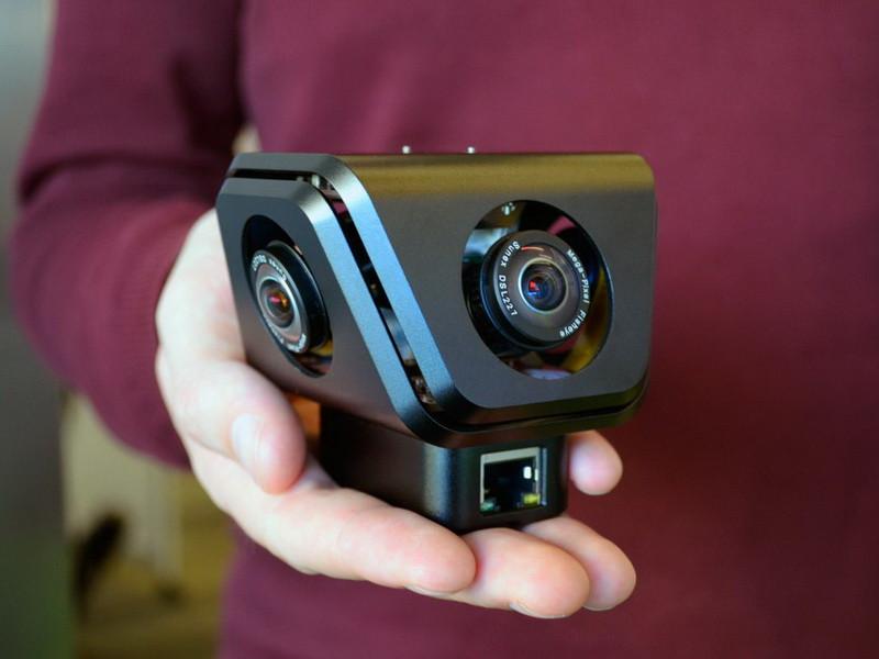 Социальная сеть Facebook презентовала новые панорамные камеры Surround 360