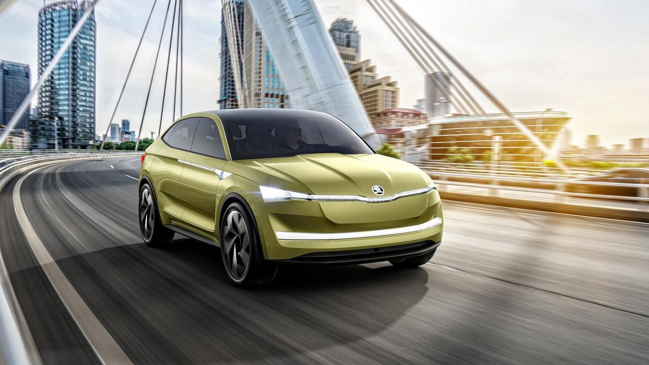 Небольшой хэтч Citigo будет платформой для первого электромобиля Шкода