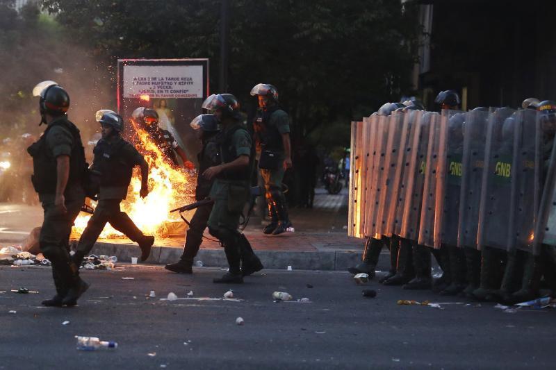 Жертвами беспорядков вКаракасе стали 12 человек