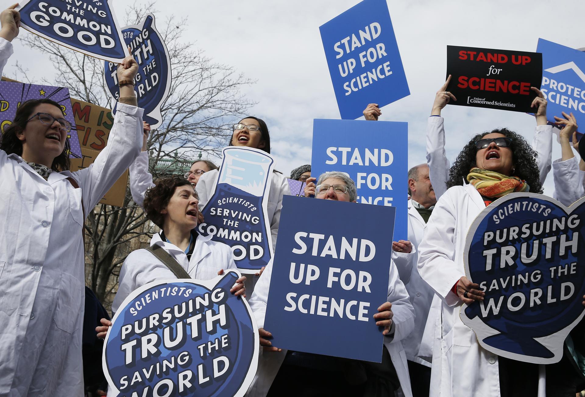 В Австралии и Новой Зеландии стартовал марш во имя науки