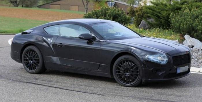 Обновленный Bentley Continental GT выведен на финальные тесты