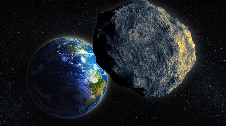 Астрономы: КЗемле близятся 5 рискованных метеоритов