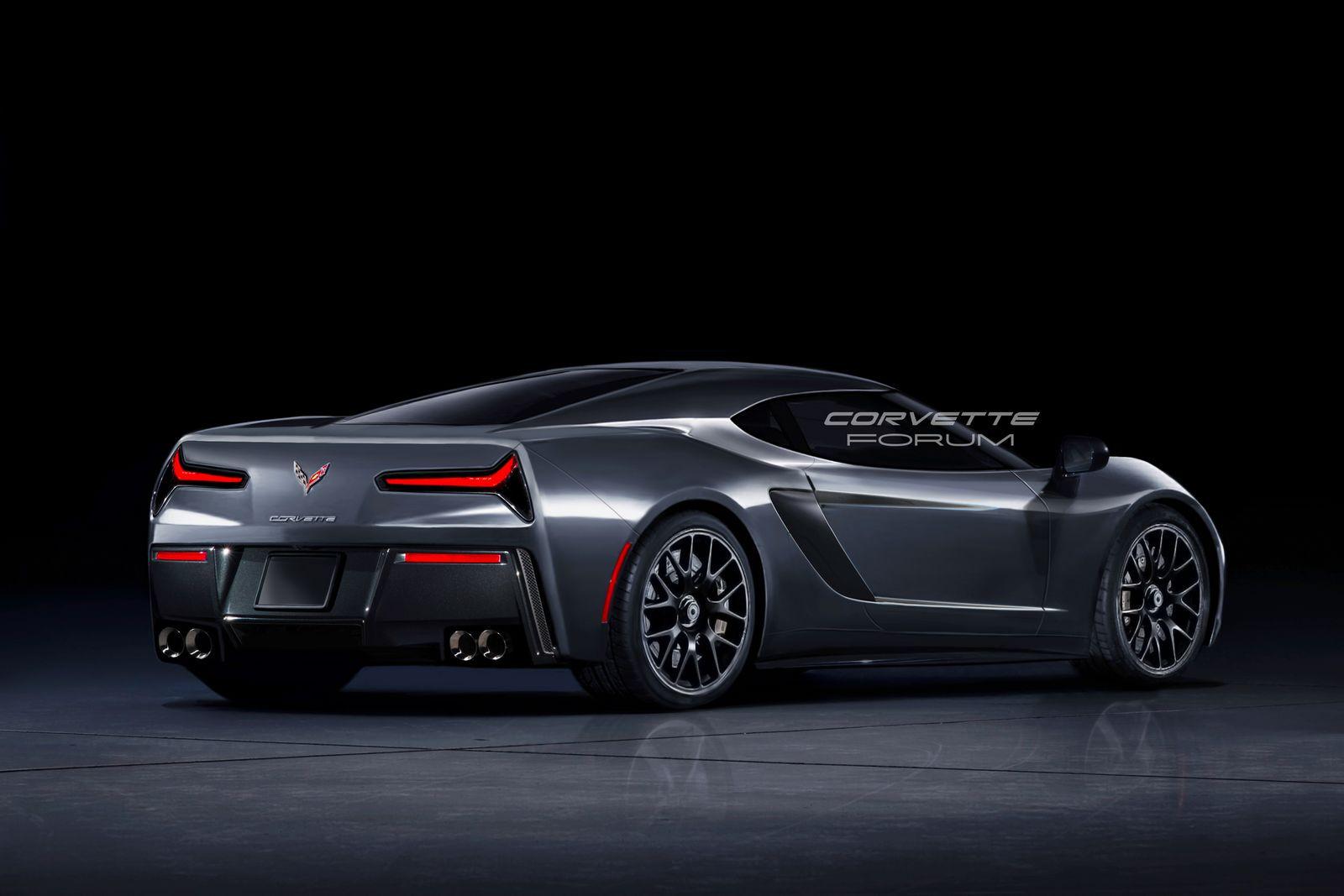 Вглобальной сети появились первые изображения Шевроле Corvette C8