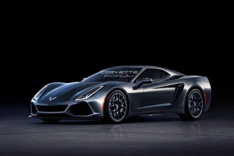 Всети интернет появились первые изображения Шевроле Corvette C8