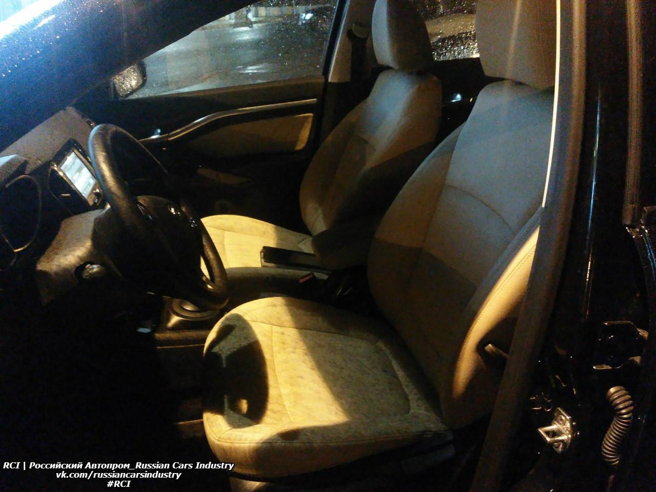 Автомобильные шпионы засняли вТольятти «роскошную» версию Лада Vesta
