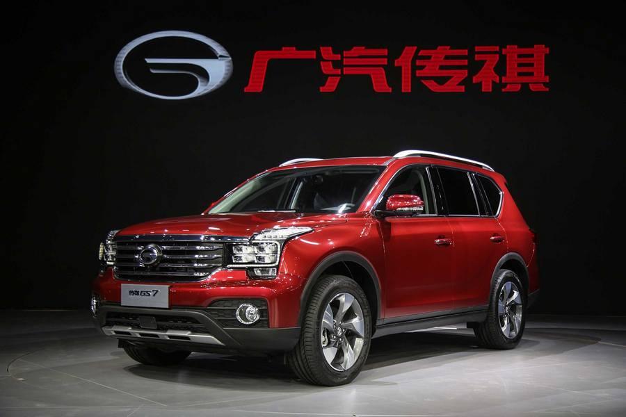 GAC Motor представил шесть новых моделей вШанхае