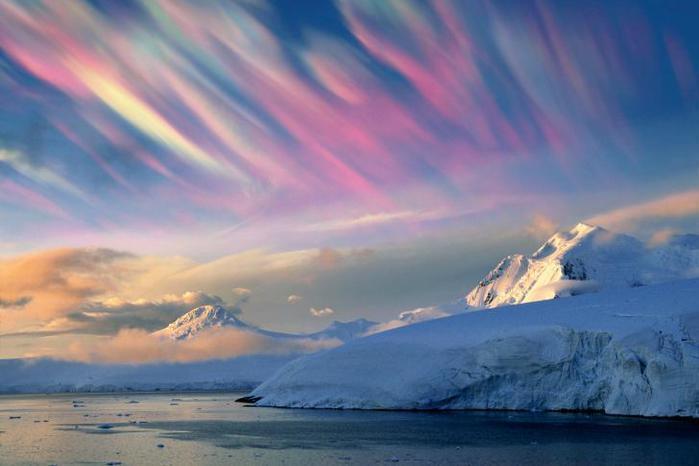 Накартине Эдварда Мунка «Крик» изображены «перламутровые облака»