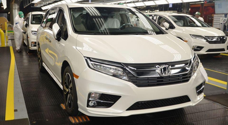 Хонда приступила ксерийному производству нового Odyssey