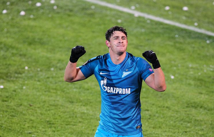 «Зенит» обыгрывает «Оренбург» после первого тайма