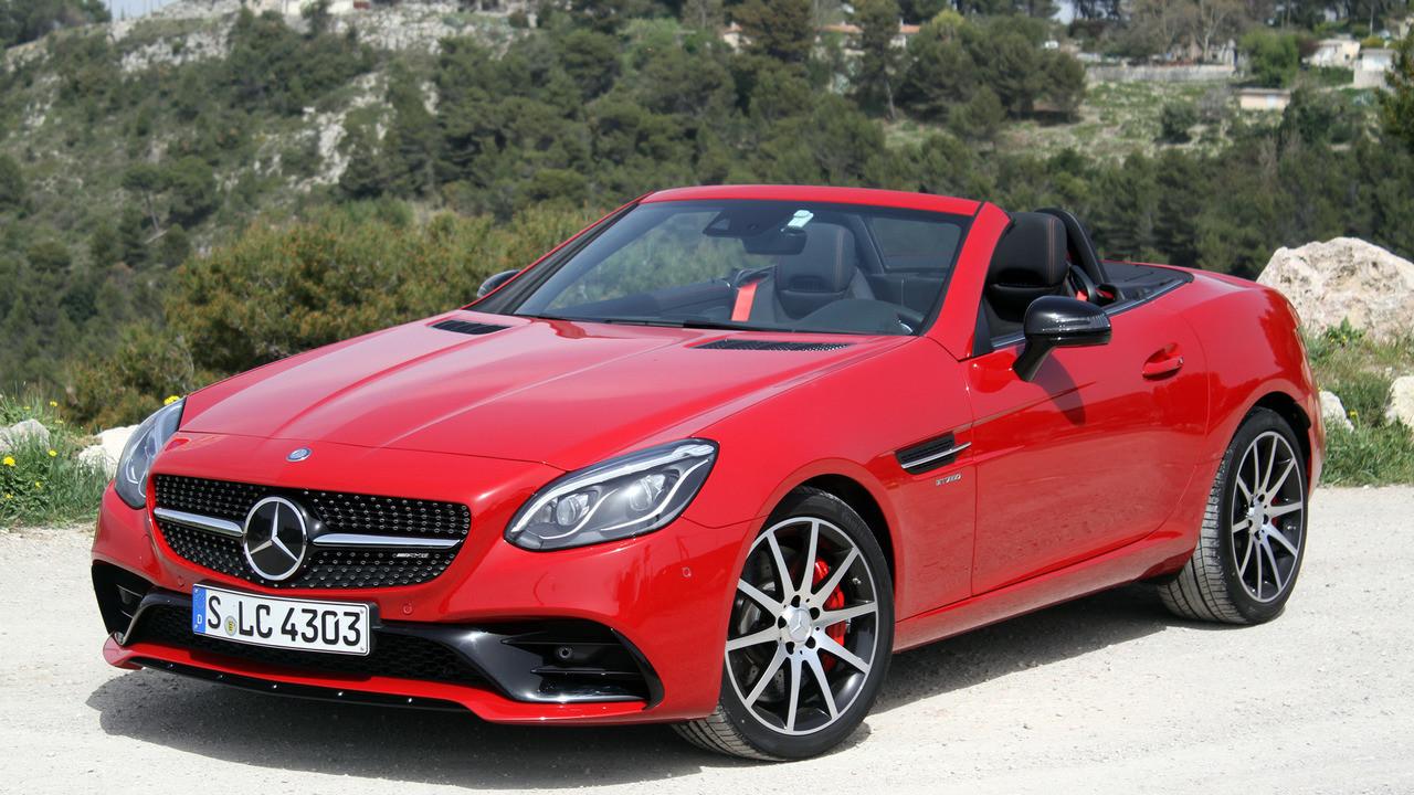 Компактный кабриолет Mercedes-Benz SLC не получит нового поколения