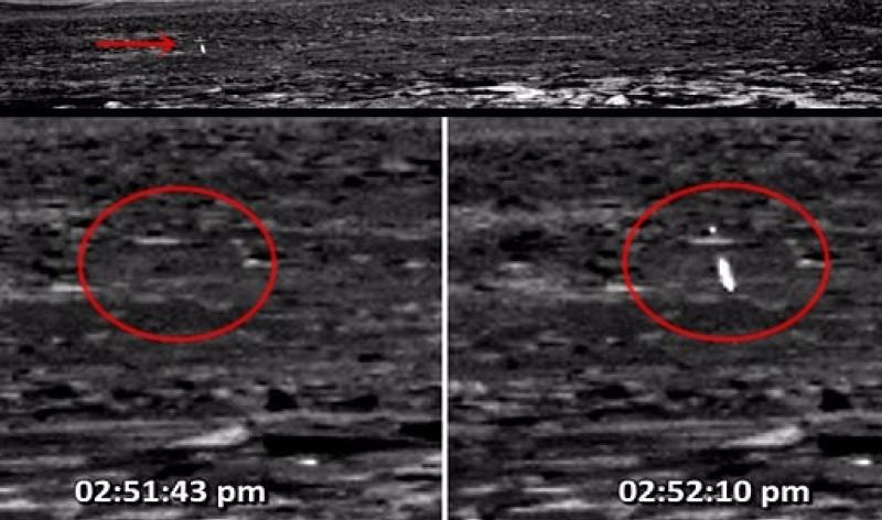 Уфологи обнаружили наМарсе сферу слазерным оружием