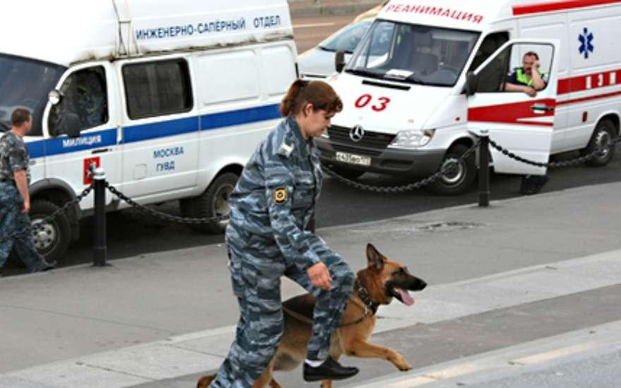 Пассажиры московского метро рухнули напол, испугавшись подозрительного предмета