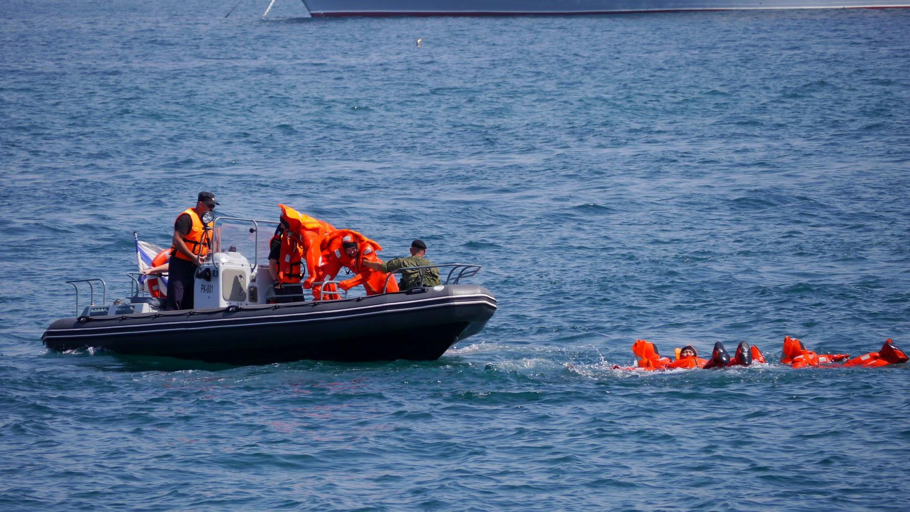 Потерпевший катастрофу корабльЧФ «Лиман» затонул вЧерном море