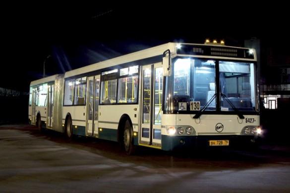 ВПетербурге с30апреля начнут ходить ночные автобусы