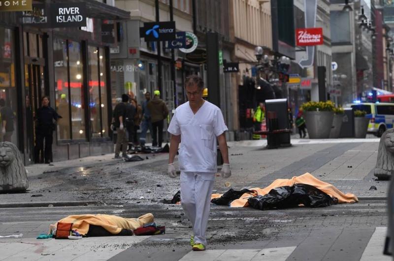 ВСтокгольме отпустили еще одного мужчину, подозреваемого втеракте