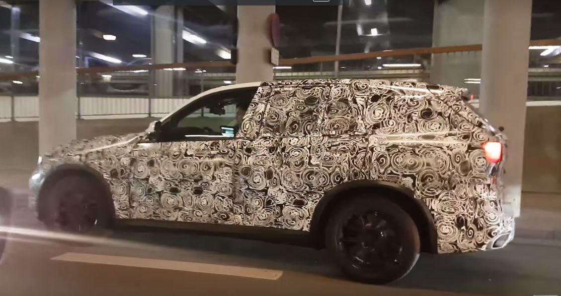 Новый БМВ X5 засняли навидео вКопенгагене