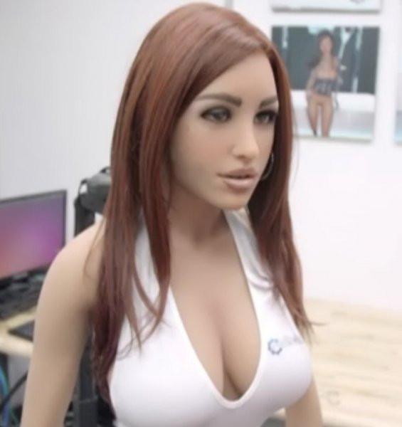 В америке выпустили секс роботы