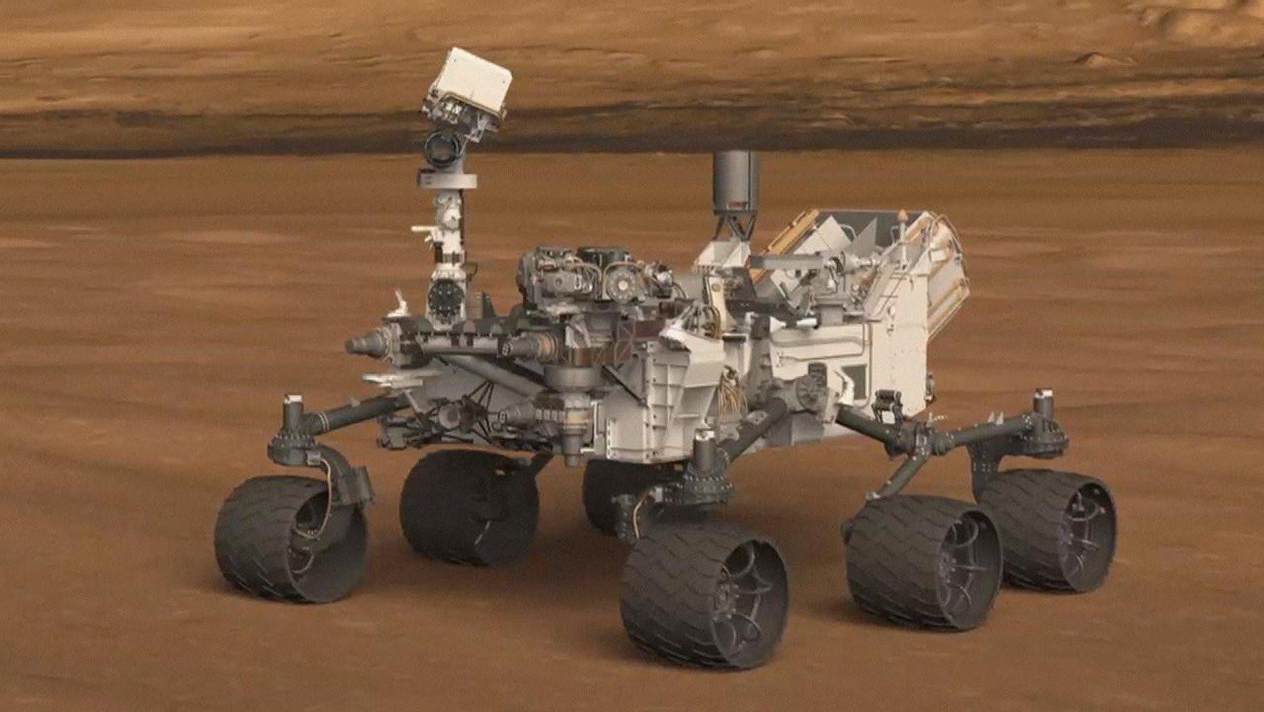 НаМарсе были кислород ивода— Ученые