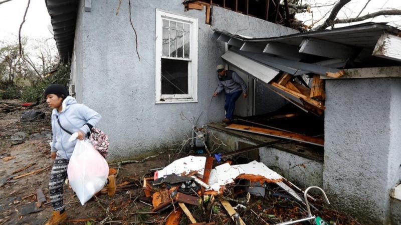 ВСША 5 человек погибли из-за непогоды