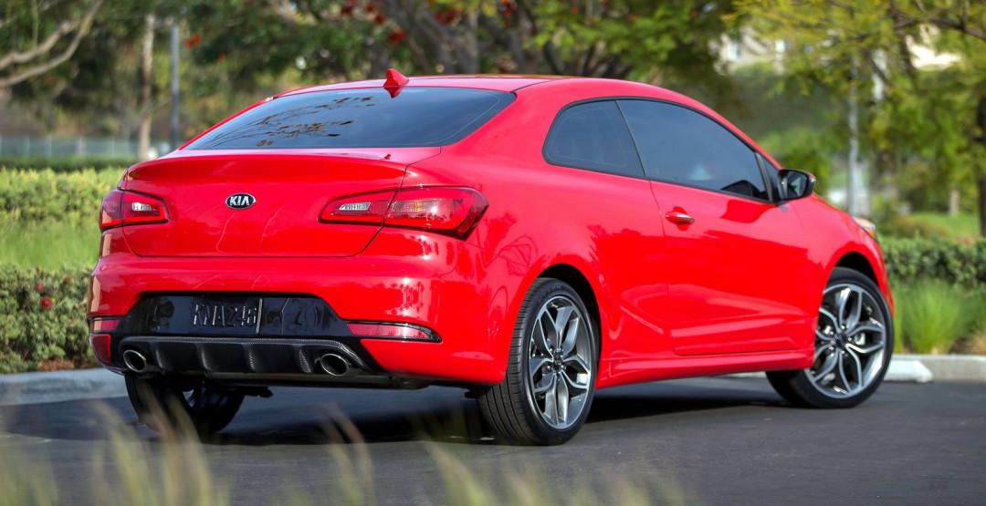 Кия больше небудут производить купе Киа Forte из-за низкого спроса
