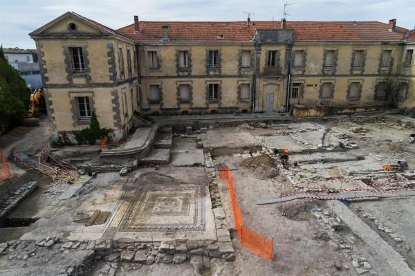 При строительстве школы во Франции нашли древний город