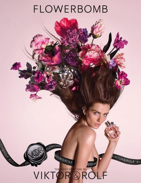 Viktor&Rolf создали для женщин духи FlowerBomb