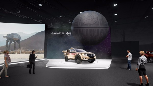 В Нью-Йорке Nissan представит надувную