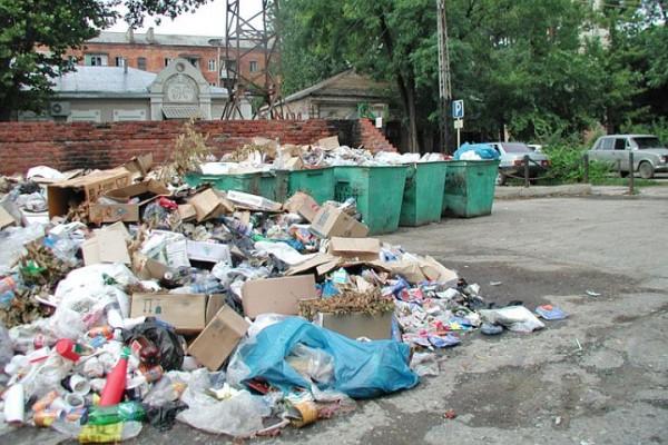 Краснодару уборка мусора обойдется дополнительно в 300 млн рублей