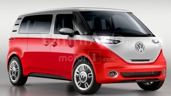 Опубликованы рендеры электрической версии легендарного Volkswagen Bulli