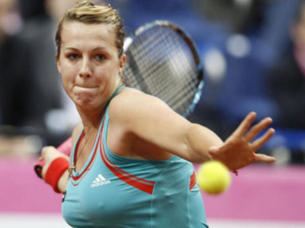 В полуфинале теннисного турнира в Монтеррее сыграет Анастасия Павлюченкова