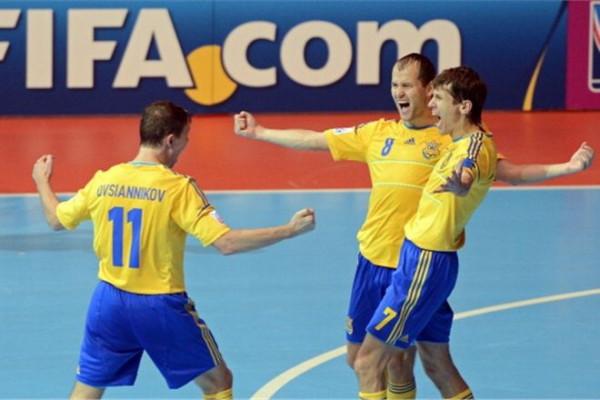 Россия пробилась на чемпионат Европы по мини-футболу