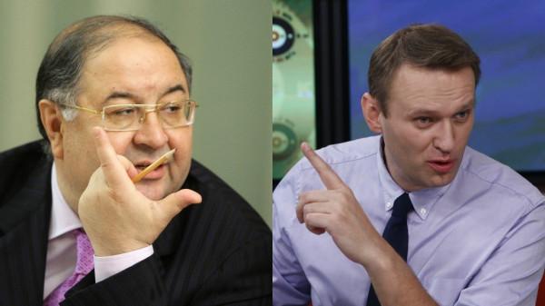 Люблинский суд Москвы принял в рассмотрение иск Усманова против Навального
