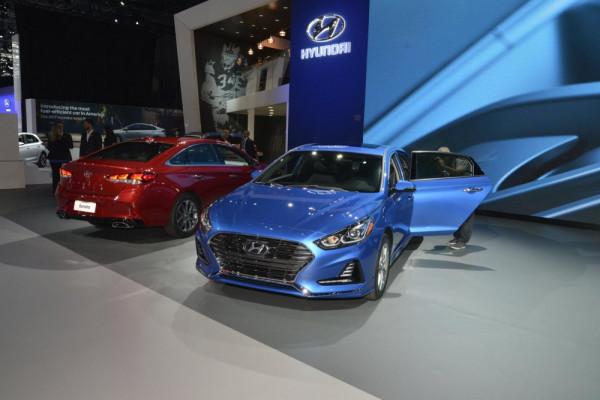 На автосалоне в Нью-Йорке дебютировал новый Hyundai Sonata