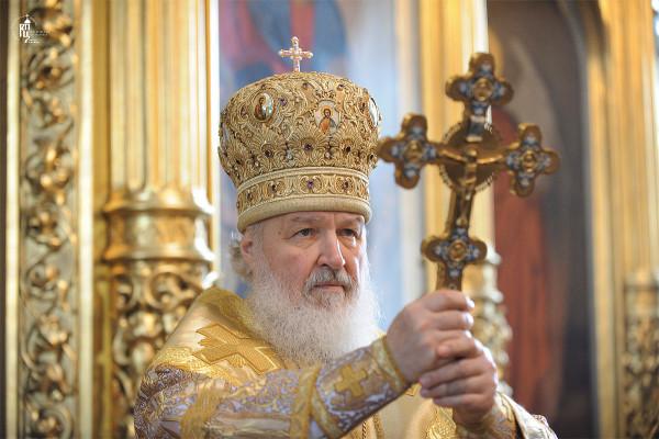 Патриарх Московский Кирилл сегодня совершит ежегодный пасхальный объезд храмов Москвы