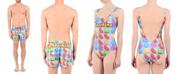 Джереми Скотт превратил игру Candy Crush в купальник
