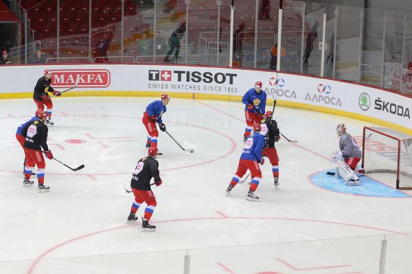Российская сборная выиграла  у французов со счетом 3:0